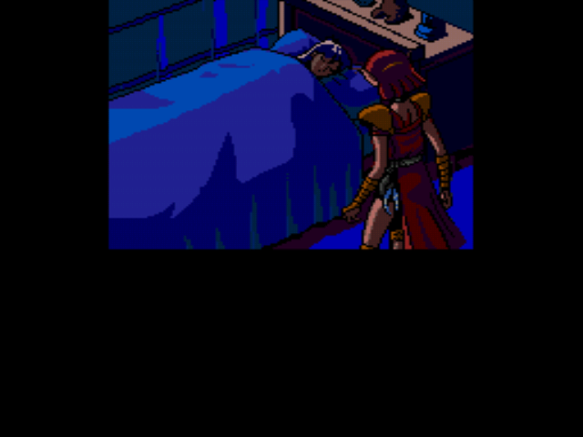 Valis III - Thief by the bed. - User Screenshot